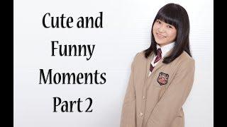 Cute and Funny compilation of Saki Ooga (大賀咲希) from Sakura Gaku...