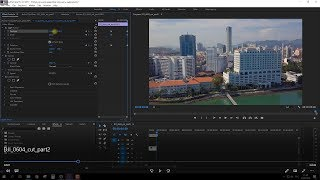 Видео с дрона улучшаем в Adobe Premiere Pro СС 2017