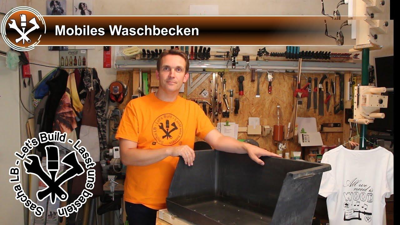 Berühmt Mobiles Waschbecken für die Werkstatt- Sascha LB - YouTube LF33