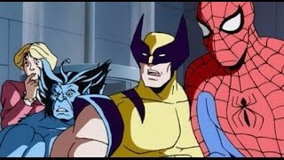 All Marvel's Cartoons of 1990s Intros [HD]