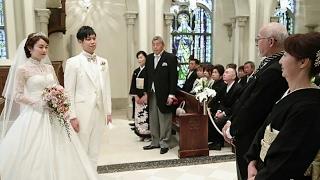 2017.2.18 青山セントグレース大聖堂 結婚式 エンドシネマ