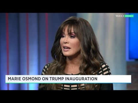 Marie Osmond Says She'd Perform at Trump's Inauguration