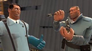 [Team Fortress 2] ЛЕТАЙ КАК СОЛДАТ, ЖАЛЬ КАК МЕДИК!
