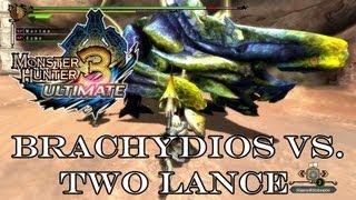 『MH3U | MH3G』Arena Challenge - Brachydios (Speedkill/Two Lance) 3:10