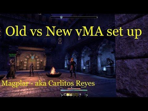 (ESO) Old vs New vMA Set Up