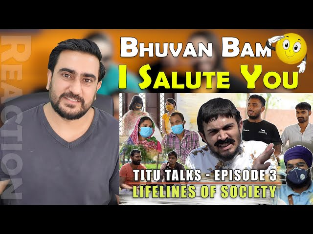 Pakistani Reacts to BB Ki Vines - Titu Talks Episode 3 - Lifelines Of Society