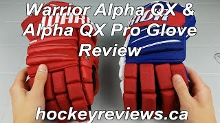 Warrior Alpha QX & QX Pro Glove Extensive Review. The most broken in gloves off the shelf?