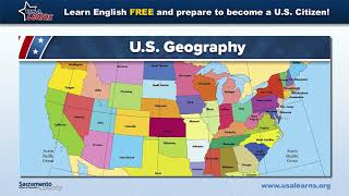 Usa learns https://usalearns.org/ are you studying to become a u.s. citizen? this video will help answer questions about geography when take y...