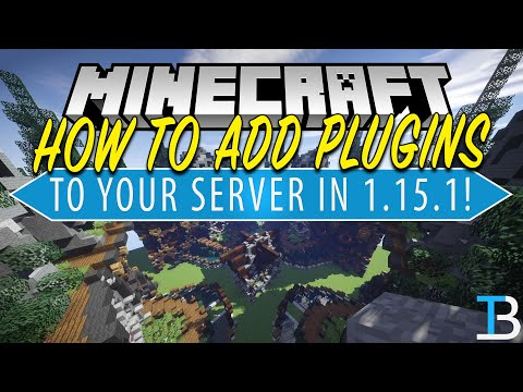 How To Add Plugins To A Minecraft 1.15.1 Server