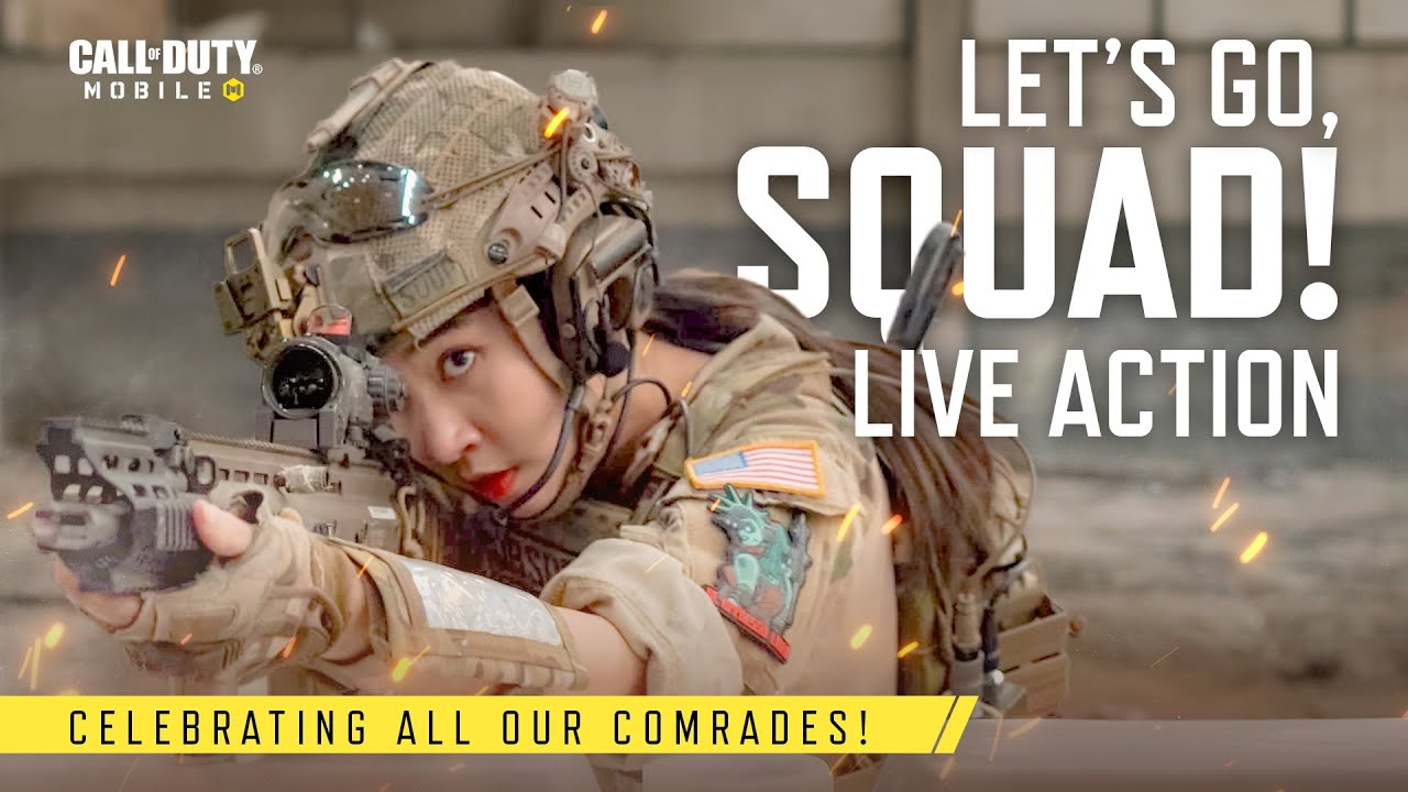 Let's Go, Squad! | Live Action | Call of Duty: Mobile - Garena