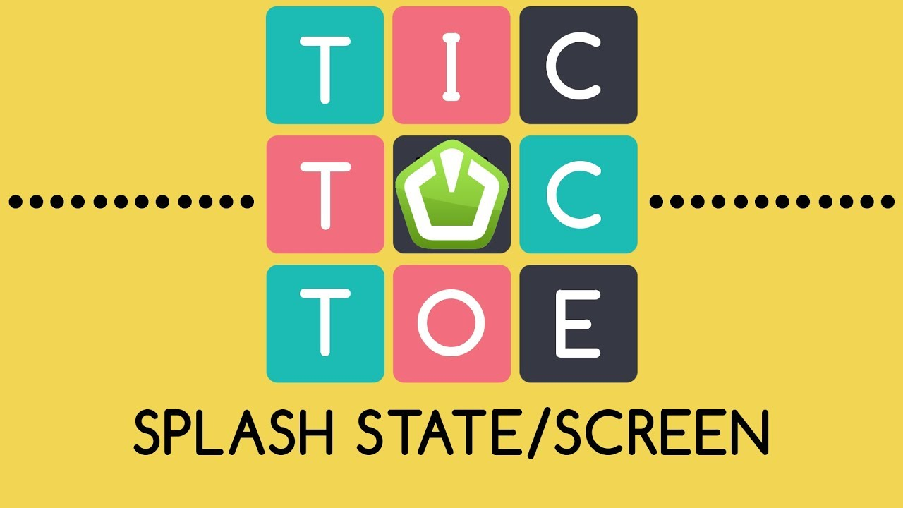 Tic-Tac-Toe SFML C++ [STATE CREATION] - Splash State/Screen by Sonar Systems