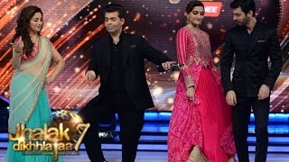 Sonam Kapoor & Fawad Khan on Jhalak Dikhhla Jaa 7 6th September 2014 episode