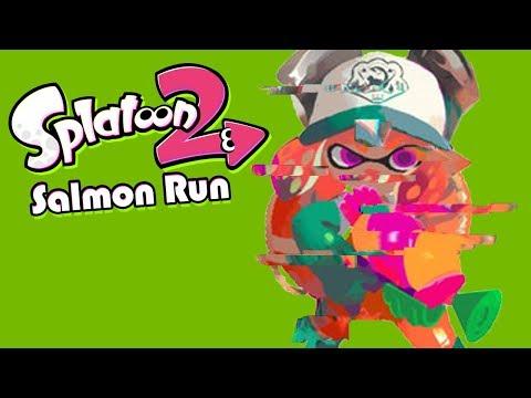 A Mysterious Glitch (Splatoon 2 Salmon Run Funny Moments)