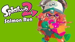 A Mysterious Glitch (Splatoon 2 Salmon Run Funny Moments)