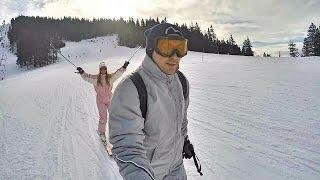Ski la Poiana Brasov Romania 2016
