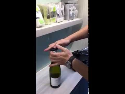 How Remove A Wine Cork With A Rabbit Wine Opener