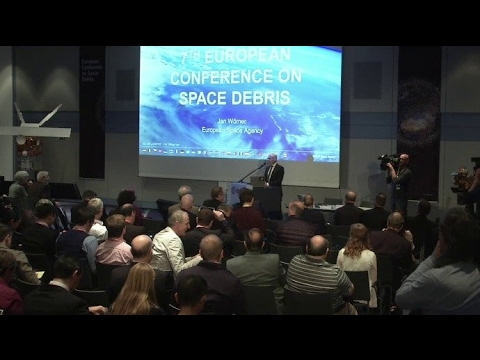 Space debris media briefing 2017