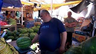 Грузия. Цены на Рынке в Тбилиси. Отношение к русским! Стоимость фруктов в Тбилиси. Недорогая Грузия