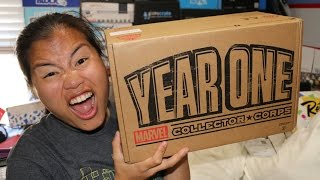 2016 Marvel Collector Corps (Funko) Unboxing - [Year One] - Special Edition!