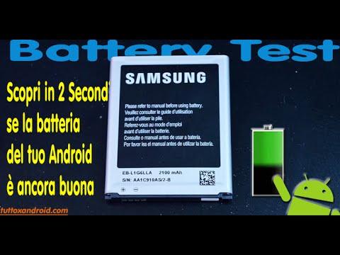 Test della batteria android in 2 secondi per capire se è buona