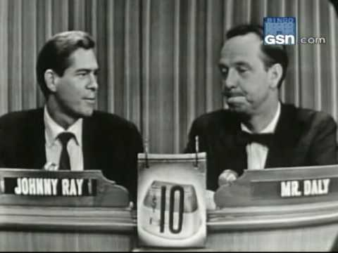 "Johnnie Ray on ""What's My Line?"""
