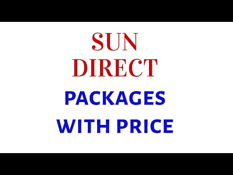 Sun direct packages and channel list Tamil | Sun dth Tamil dpo packs with  price reviews channels