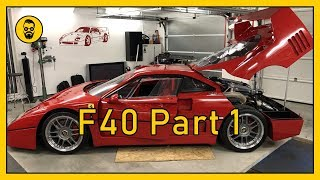 He built his own F40 (ENG SUBS)