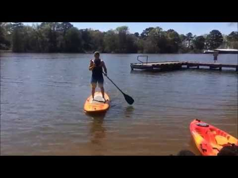Pelican Flow 106 SUP Board: First Time