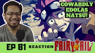 "Fairy Tail Episode 81 [REACTION] ""Fireball"""