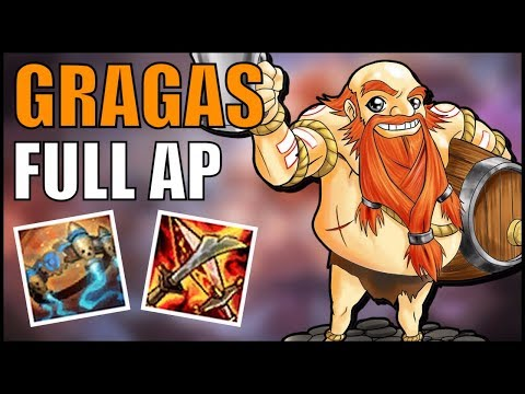 ► GRAGAS FULL AP vs TWISTED FATE MID [GUIA S7 en ESPAÑOL] - League of Legends