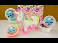 EINHORN aus Silk Clay + Foam Clay | cooles Unicorn selber machen | DIY Inspiration kreative Ideen