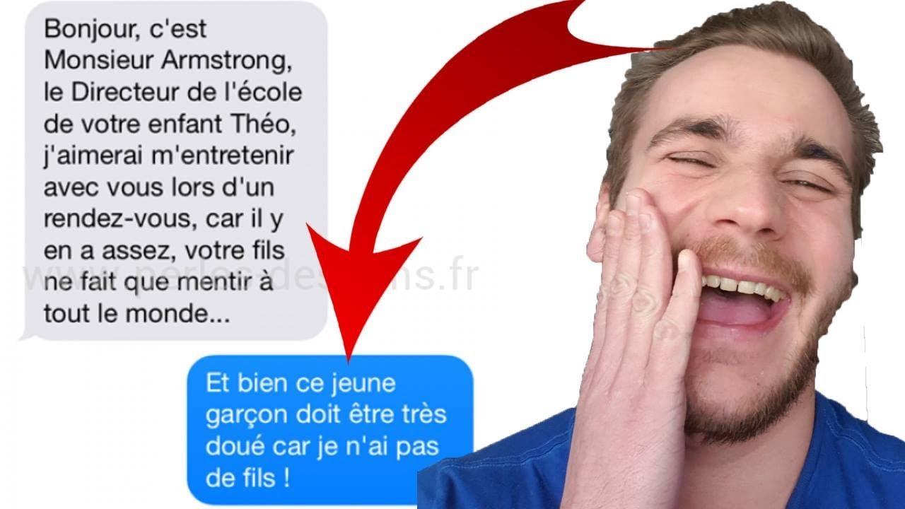 LES PIRES SMS DES PROFS VS ÉLÈVES !
