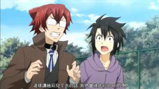 Funy Scane From Anime Cuticle Detective Inaba.