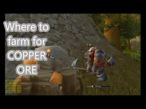 Where To Farm For TONS Of COPPER ORE | WoW Mining Guide