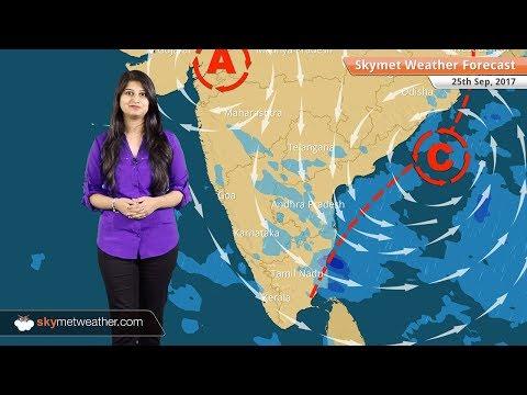 [Hindi] 25 सितम्बर के लिए मौसम पूर्वानुमान: उत्तराखंड में वर्षा, उत्तर पश्चिम भारत में मौसम शुष्क
