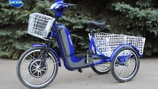 Электровелосипед Vega Big Happy new+реверс