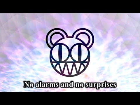 Radiohead - No Surprises (LYRIC VIDEO) [HD 720p]