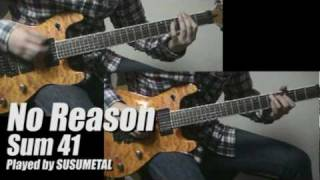 Sum 41 - No Reason (Guitar Cover ★ Lead and Rhythm)