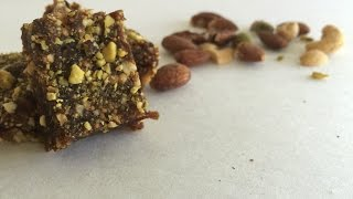 No Bake Date And Fig Bars In English Raihana's Cuisines
