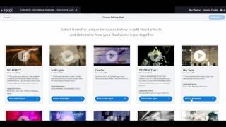 如何製作MV音樂影片 - 簡單, 低成本, 自動剪輯網站Rotor! 十分鐘搞定MV製作!