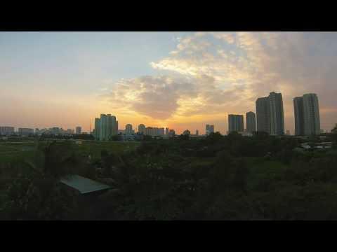 VIETNAM timelapse Saigon 2017 (go pro)