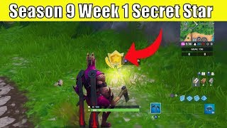 Season 9 Week 1 Secret Battle Star Location Guide( Utopia Challenges) Fortnite