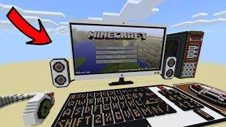 РАБОЧИЙ КОМПЬЮТЕР в Minecraft PE 1.1.3.1