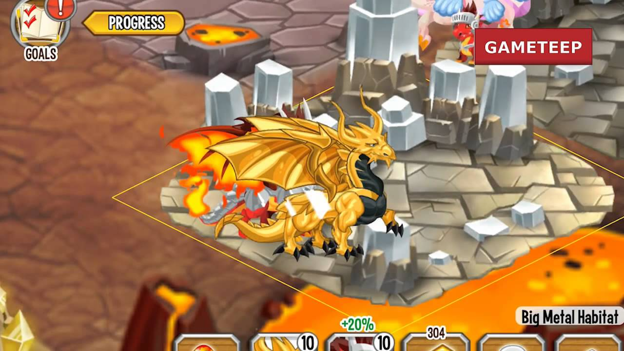 How to breed Gold Dragon 100% Real! Dragon City Mobile ...