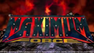 Maximum Force (Arcade) Full Playthrough