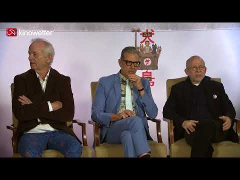 Interview  Bill Murray,  Bob Balaban & Jeff Goldblum ISLE OF DOGS en streaming