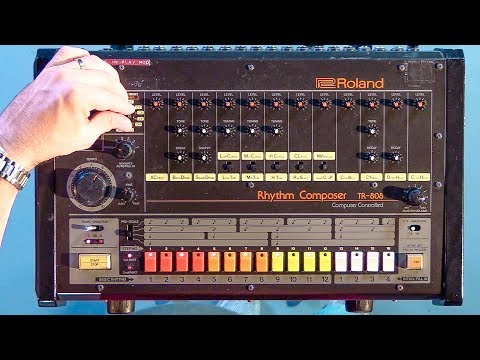 World's Most Expensive Drum Machines: TR808