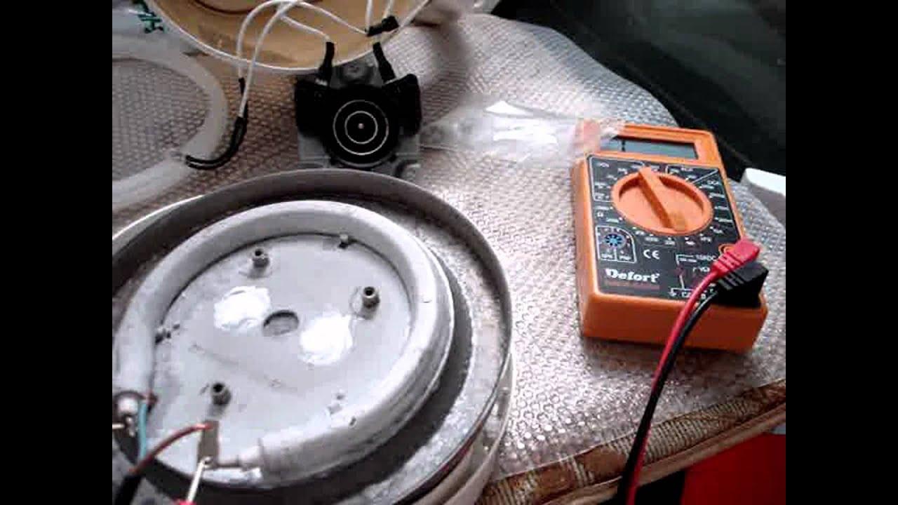 как вытянуть дисковый тэн с чайника