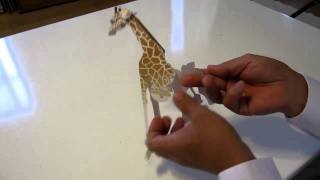 Making A Paper Giraffe