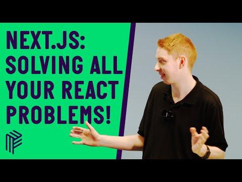 Next.js: The React Framework - JS Monthly - July 2019 thumbnail